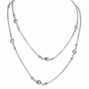 "Konstantino sterling silver 36"" necklace NWT $420"